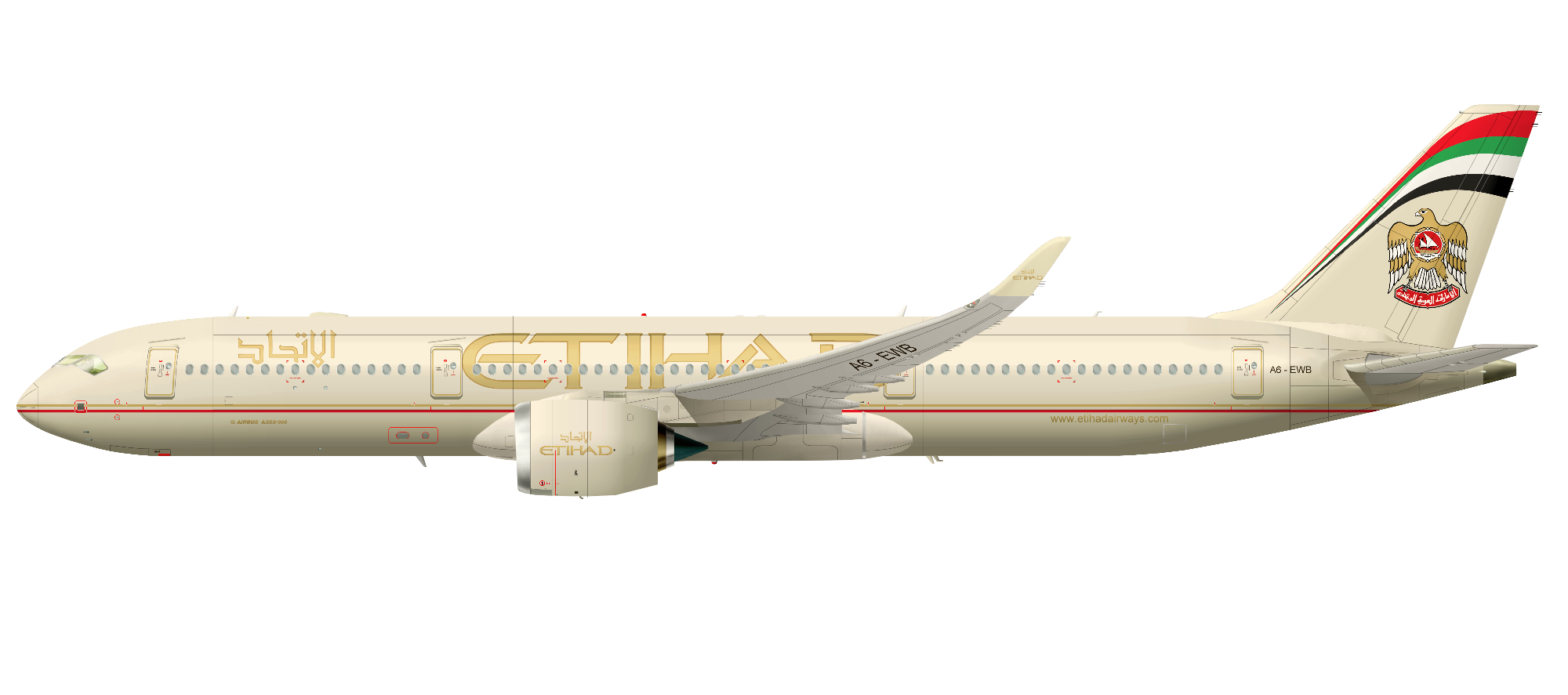 Etihad Airways A350XWB
