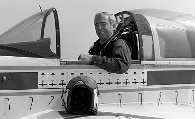Jim Patton in the NASA AA-1X