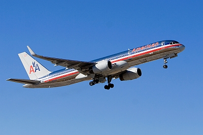 American Airlines Boeing 757-200 with Rolls Royce RB211-535E4-B engines