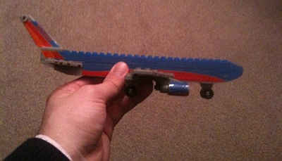 Dan's Lego 737