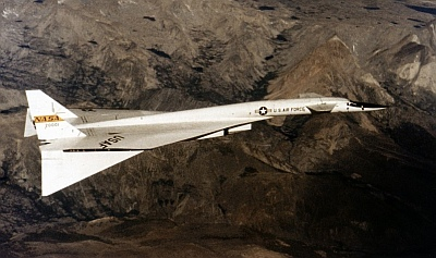 North American XB-70, NASA picture