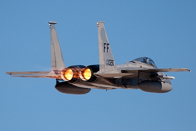 F-15 by Jason Bong at Red Flag