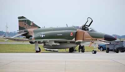 QF-4E phantom of 82d Aerial Target Sqd Part of USAF Heritage Flight