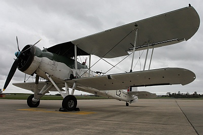 Fairey Swordfish of the Royal Navy Historic Flight