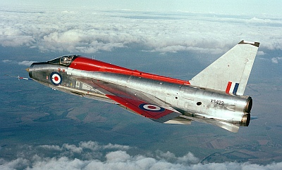 XS442 in flight during her RAF service with the ETPS in the 1980's. Photo credit: AALO / Crown