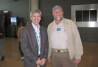 Micah and Paul Bradbury, Airport Director