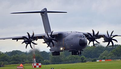 A400M at RIAT 2012 by Seb Spencer