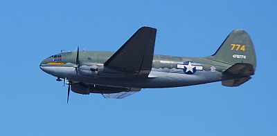C-46A Commando Tinker Belle