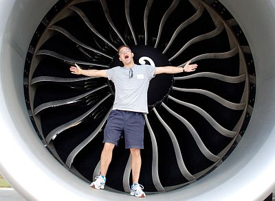 Gavin Werbeloff and the GE90