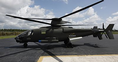 Sikorsky RAIDER compound helicopter