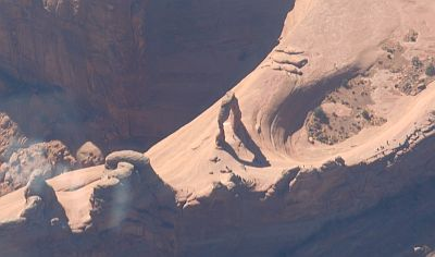 Moab's Delicate Arch from 6500 by Jodi
