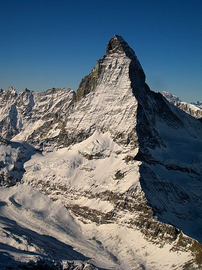 The Matterhorn by Etienne Maillard on his cross country flight.