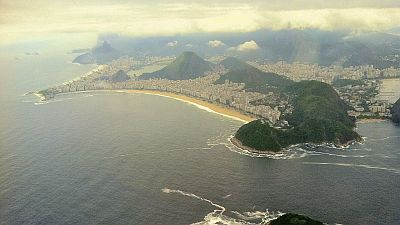 Copacabana picture from Webjet flight
