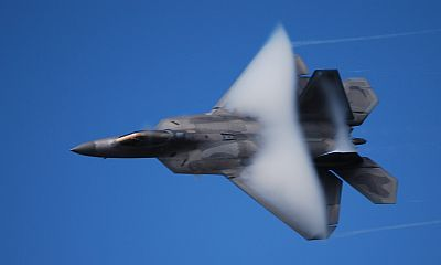 F-22 by David Vanderhoof