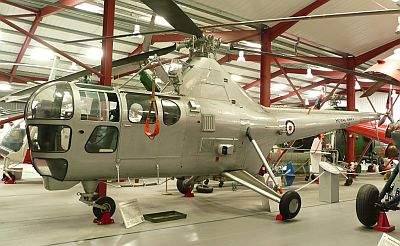 Westland WS51 Dragonfly at the Helicopter Museum by Bob