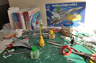 Ryan's Su-30MKK Flanker G 1:72 scale model