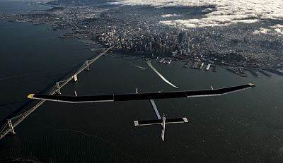 Across America 2013: Golden Gate Flight © Solar Impulse, J. Revillard