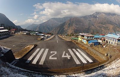 Lukla Airport © Alex Johnson