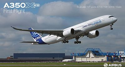 A350XWB First Flight