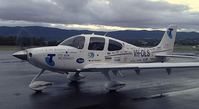 "VH-OLS ""Spirit of the Sapphire Coast"""