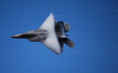 David's F-22 Photo