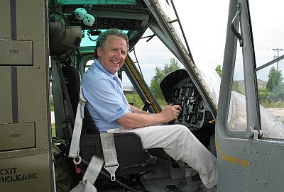 Rob in the Huey