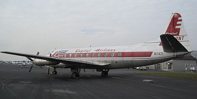 1957 Vickers Armstrong V745D Viscount