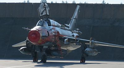 Su-22 used for ground attack in Poland. Taken during Zlot 2013 at Krzesiny Air Base Courtesy - Krzysztof Kuska