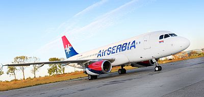 Air Serbia A319 Courtesy Air Serbia