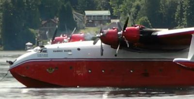 Martin Mars Water Bomber Tribute