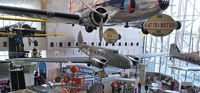 The 247D and DC-3 at NASM