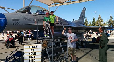 John Arvin at Luke Airforce Base Airshow