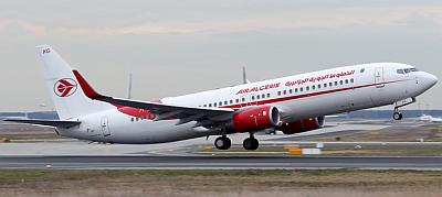 Air Algerie Boeing 737-8D6 Copyright Konstantin von Wedelstaedt