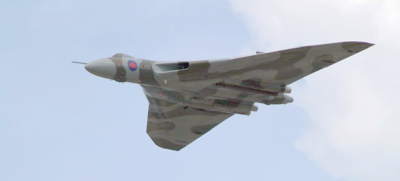 Vulcan at Farnborough by Ian Allen