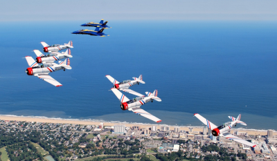 Oceana Airshow Geico Flight / Honor Flight