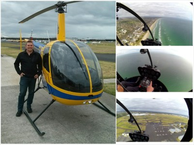 Evans Heli Flight