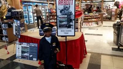 Aspiring young pilot