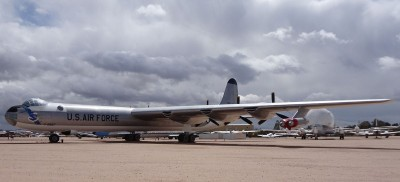 B-36J AF Serial Number 52-2827 on display at the Pima Air & Space Museum.