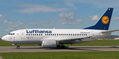 Lufthansa 737-500 photo copyright Jurgen