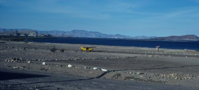 Airstrip at Bahia de Los Angeles, or Bay of LA