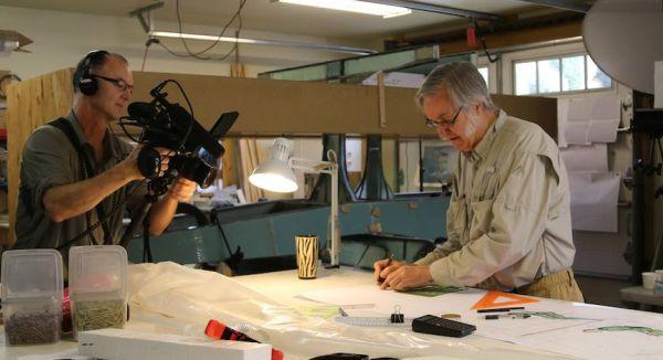 Filming Burt Rutan