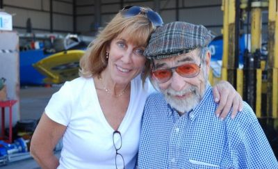 Producer Nancy Spielberg and Harold Livingston