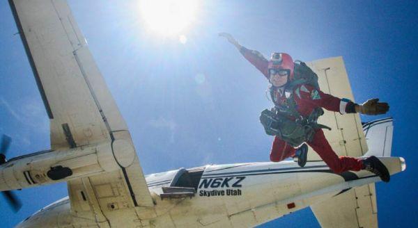 Patrick Wiggins 50th anniversary jump