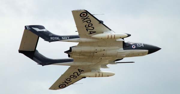 RNHF Sea Vixen - Air Day 2015 Copyright XTPMedia