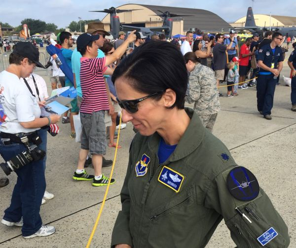 "Lieutenant Colonel Christine ""Grinder"" Mau"
