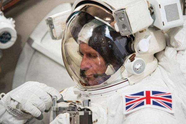 Astronaut Major Tim Peake