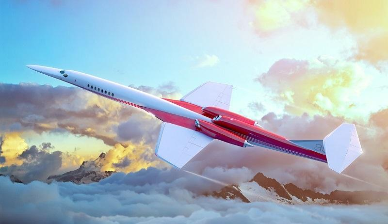Aerion AS2 In-Flight