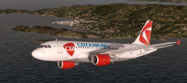 Airbus A319 Czech Airlines OK-MEK