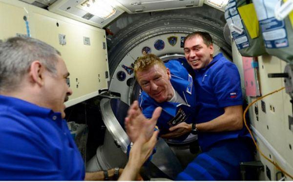 Major Tim Peake to the International Space Station