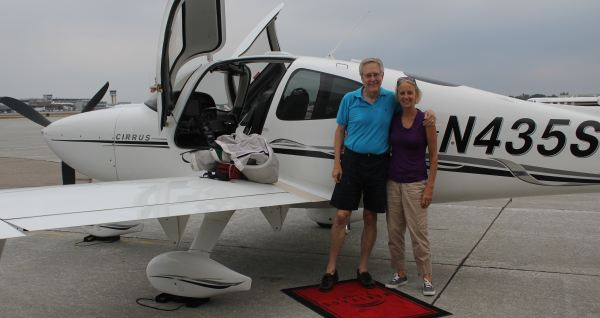 James Fallows and wife Deb on their current see-America trip